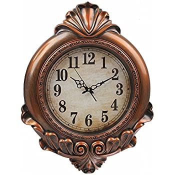 Amazoncom 8 IN RAISED NUMBER WALL CLOCK Home Kitchen