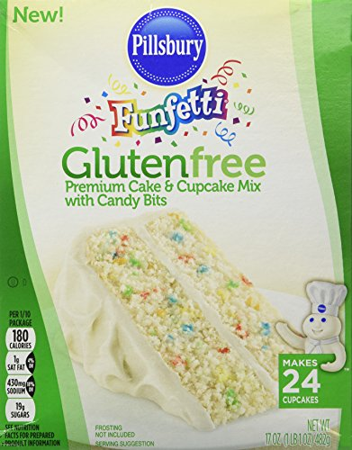 Make Gluten Free St. Patrick's Day Pot Of Gold Filled Cupcakes with Pillsbury Funfetti Gluten Free Premium Cake & Cupcake Mix with Candy Bits