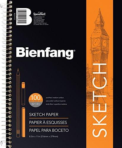 Bienfang Take Me Along Sketch Pad, 100 Sheets