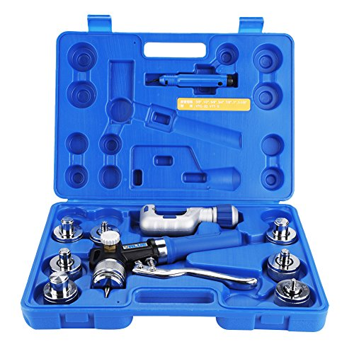 (Hydraulic Swaging Pipe Expander Tubing Expansion Tool Set for Copper Aluminum Tubes)