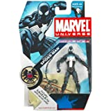 "Marvel Universe 3 3/4"" Series 3 Action Figure Black Spider-Man"