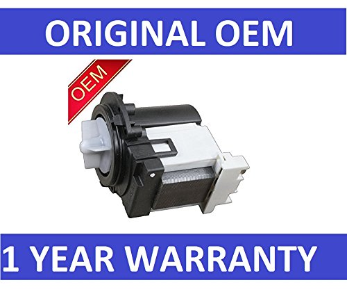 New OEM Original LG 4681EA2001T Drain Pump Washing Machine by LG, AP5328388, 2003273, 4681EA2001D - by PrimeCo 1 YEAR WARRANTY (Best Value Front Loader Washing Machine)