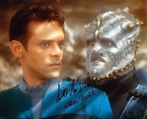 SCOTT MacDONALD as Goran'Agar - Star Trek: Deep Space Nine Genuine Autograph from Celebrity Ink
