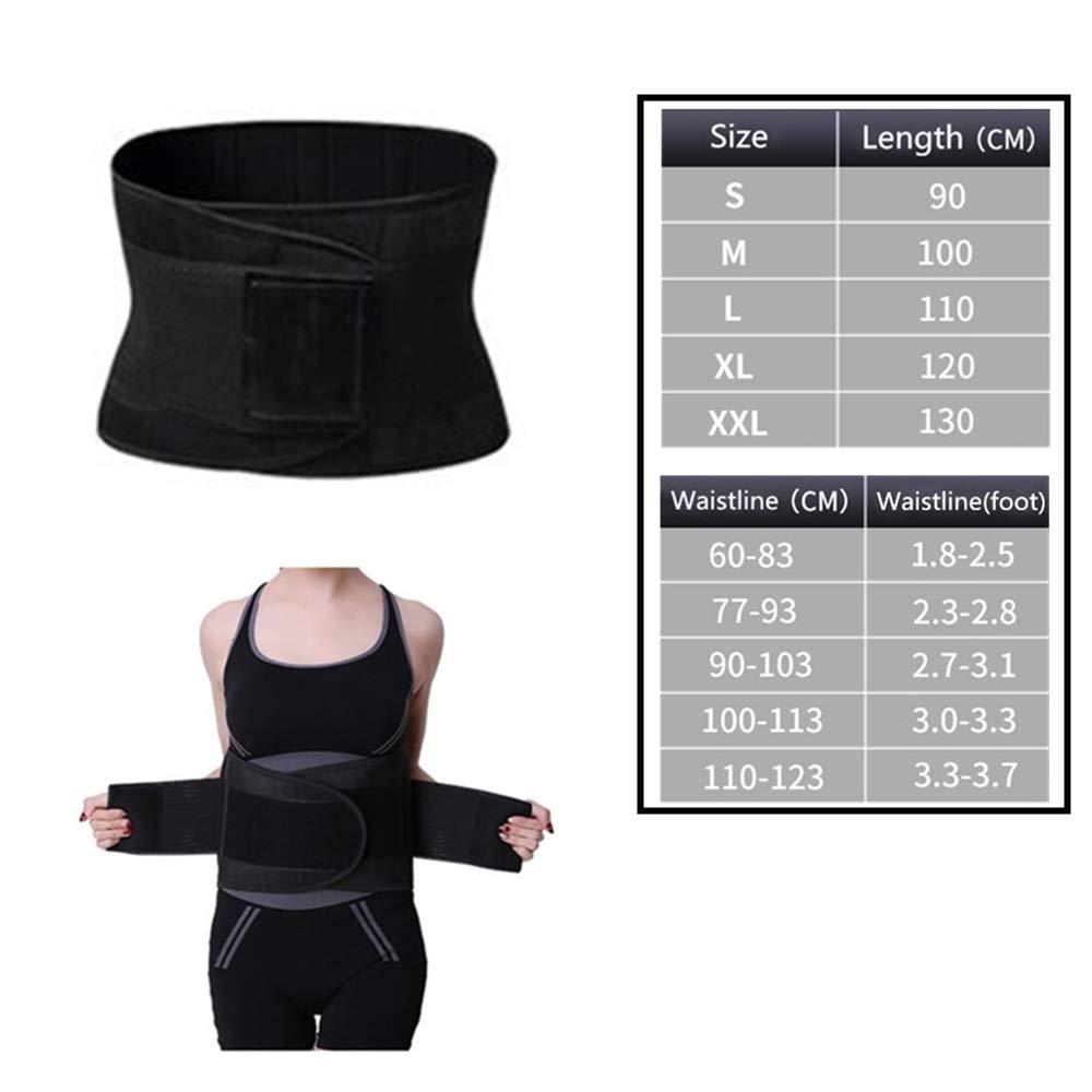 HWZ Slimming Body Shaper Sport Girdle Belt Sweat Waist Abdominal Trainer Trimmer Belt Fitness Equipment Sports