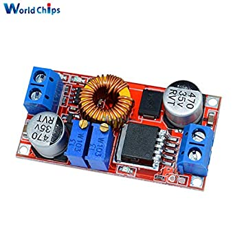5pcs XL4015 5A Max DC to DC CC CV Step-Down Lithium Battery Charger Converter