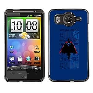 Caucho caso de Shell duro de la cubierta de accesorios de protección BY RAYDREAMMM - HTC G10 - Bullet Flying Text Comic Character