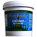 2.65 LBS Organic LOW GLYCEMIC Thai Coconut Blossom Sugar Paste - Divine Organics - Mineral and Enzyme Rich Sweetener (2.65 LBS)