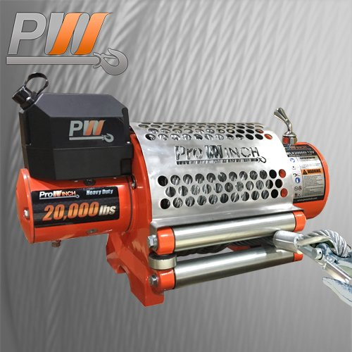 Super Heavy Duty PWLX 20K GEN 2 PROWINCH 20000 lb 12V Win...