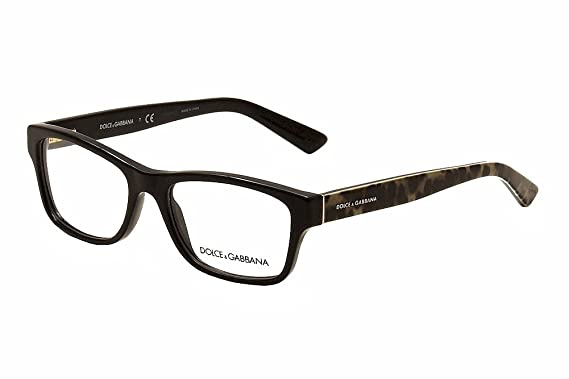 c7aba5f2600 Dolce Gabbana ENCHANTED BEAUTIES DG3208 Eyeglass Frames 2525-52 - Black  DG3208-2525-52