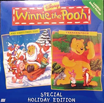 Winnie The Pooh And Christmas Too.Amazon Com Winnie The Pooh And Christmas Too