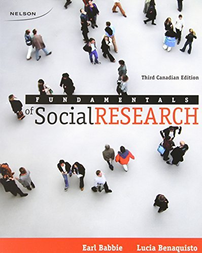By Earl Babbie: Luca Benaquisto Fundamentals of Social Research [Paperback] pdf