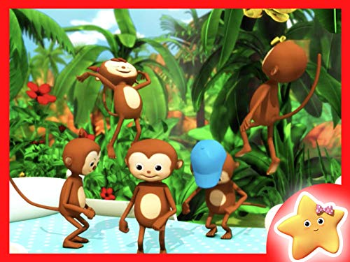 5 Little Monkeys Jumping on The Bed Part 2 by Little Baby Bum - Educational Songs for Kids