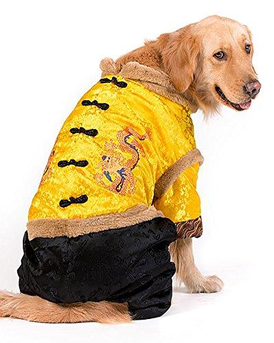 Yellow Labrador Costumes - MaruPet Hallowmas Christmas New Year Chinese