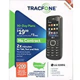 TracFone L328 Prepaid Carrier Locked - 1.7inch Screen - 0GB - Black (U.S. Warranty)