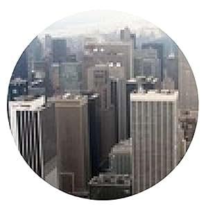 alfombrilla de ratón El horizonte de la ciudad - ronda - 20cm