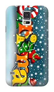 Merry Christmas New fashionable designed TPU phone protection case For Samsung Galaxy s5 with Fresh Patterns