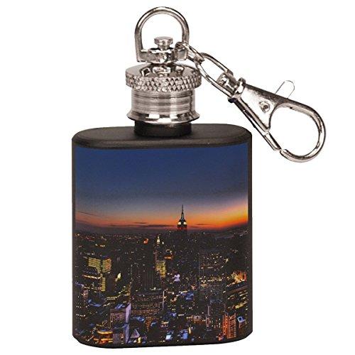 New York City Manhattan - Stainless Steel Flask