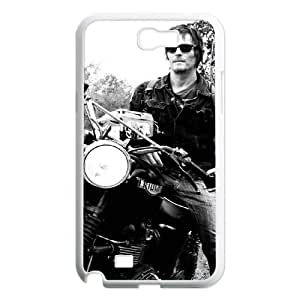 TOSOUL Diy Phone Case The Walking Dead Pattern Hard Case For Samsung Galaxy Note 2 N7100