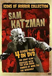 Icons of Horror Collection: Sam Katzman (The Giant Claw / Creature with the Atom Brain / Zombies of Mora Tau / The Werewolf) [Import]