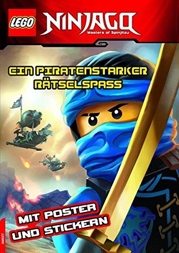 LEGO NINJAGO Ein piratenstarker Rätselspass: mit Stickern und Poster
