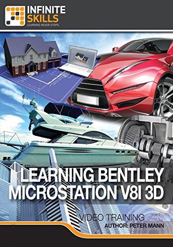Bentley MicroStation V8i 3D [Online Code] by Infiniteskills
