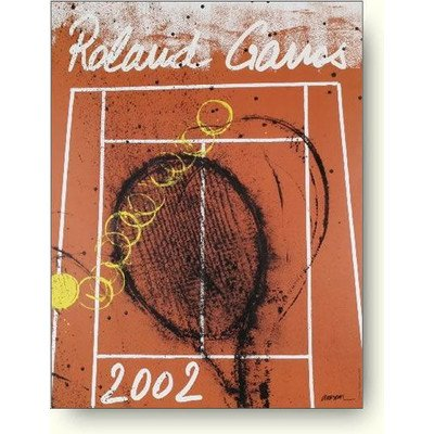 ロバート アルマン ローラン ギャロス(全仏オープン) 2002年 アートポスター B005LAACNE