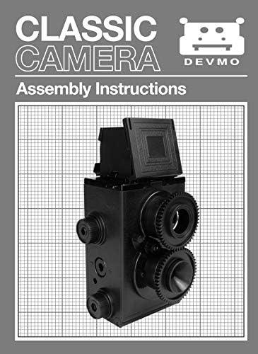 DEVMO DIY Lightnes Classic Retro Holga Lomo Recesky TLR Camera 35mm Film Twin Lens Reflex Kit 51yS9TS2VDL