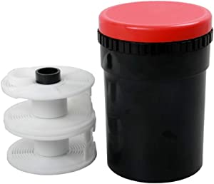 Ultra Universal Plastic Daylight Film Developing Tank for Film Sizes, 135 35mm, 120 and 220 Darkroom Kit Processing Equipment