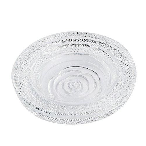 Saim Crystal Glass Smoking Ashtray Home Office Tabletop Decoration 5.5
