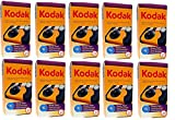 10 Kodak HD Power Flash One-Time Use 35mm Disposable Camera 27exp