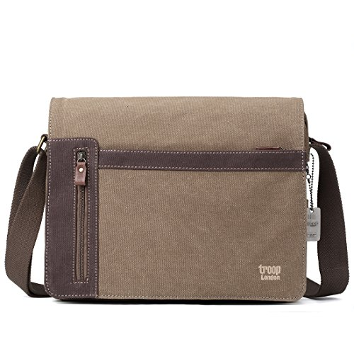 Troop London classico TRP0365 messenger bag (marrone)