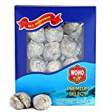 WOHO Natural Sun Dried Wild Caught Round Sea Cucumber Large 4oz