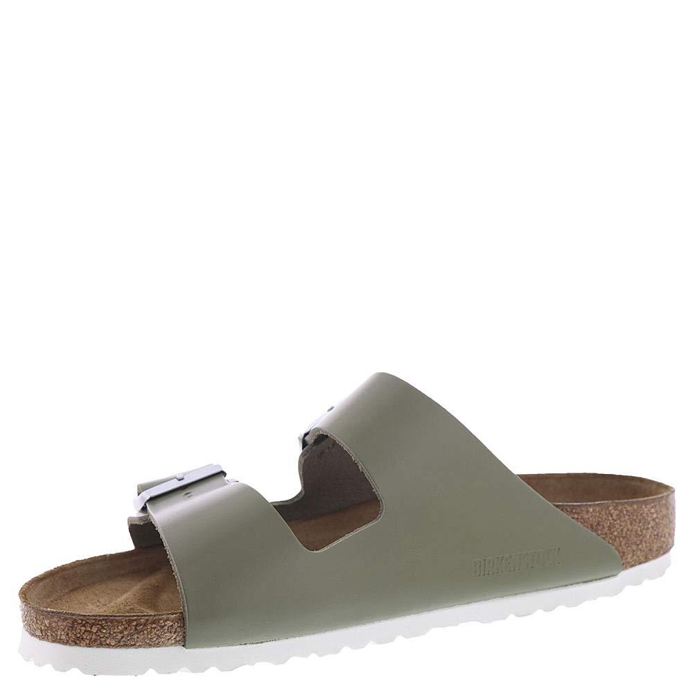 0e1df0dcef18b Birkenstock Women's Arizona Leather Limited Edition Narrow Fit Sandals,  Khaki, 39