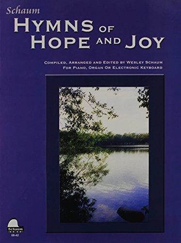Hymns of Hope and Joy: Level 1 (Big Note w. Lyrics) (Schaum Publications)