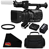 Panasonic AG-UX90 4K/HD Professional Camcorder Essential Bundle - International Version (No Warranty)