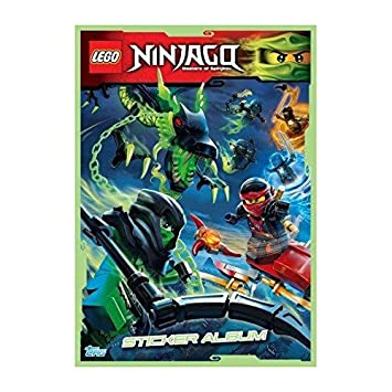 LEGO Ninjago Vinilo Adhesivo de Collection- álbum: Amazon.es ...