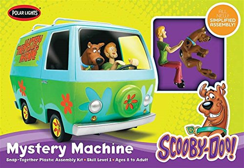Snap Lights Polar (Polar Lights SNAP Scooby-Doo Mystery Machine (New Tool))
