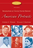 img - for American Portraits: Biographies in United States History, Volume 2 (American Portrait Series) book / textbook / text book