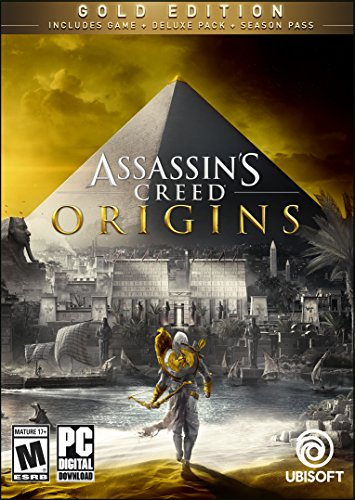 Assassin's Creed Origins Gold Edition - PC [Online Game Code] by Ubisoft