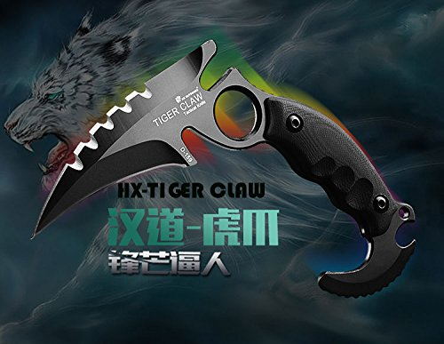HX outdoors army survival knife outdoor too high hardness cqmping hiking knife