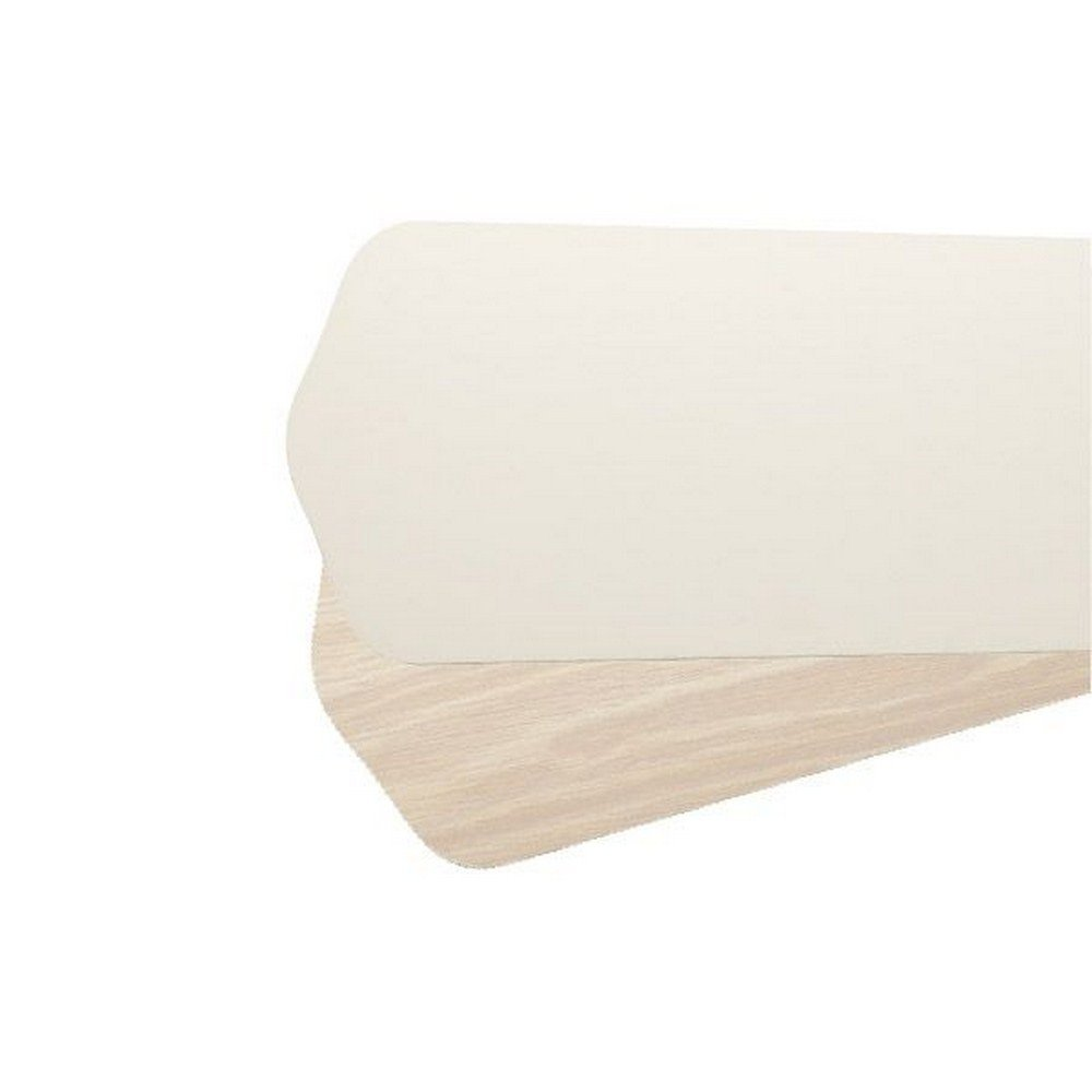 Quorum 5256752164, Five Reversible Antique White/Washed Oak Type 4 Blades