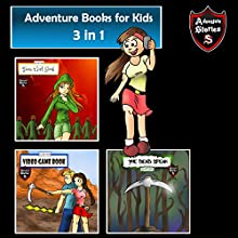 Adventure Books for Kids: Book of Short Kids Tales and Adventures Audiobook by Jeff Child Narrated by John H Fehskens