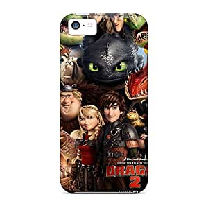 Shock-Absorbing Hard Phone Covers For Iphone 5c (IEl6114YlaB) Unique Design High-definition How To Train Your Dragon Skin