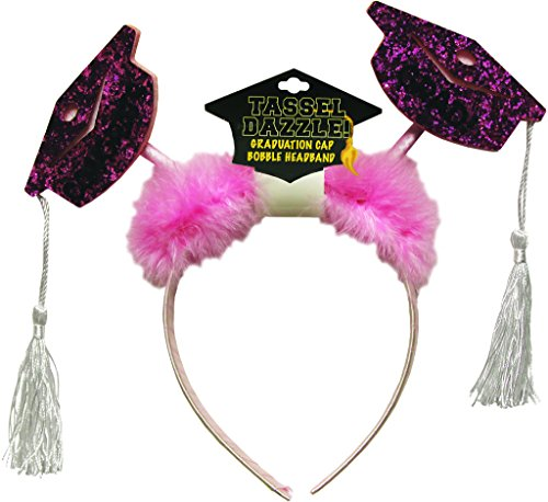 [dolly2u Graduation Cap & Tassel Bobble Headbands Case Pack 48] (Old Ash Ketchum Costume)