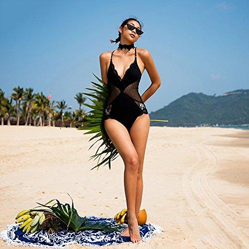 Creux One piece Super De Slim Bain États L'europe Femme Les Maillots Et unis Sexy Balnéaire Vacances Spring Sunkini Sangle Hot Tria Dentelle Maillot Natation Costume Couture Ybv7fgy6