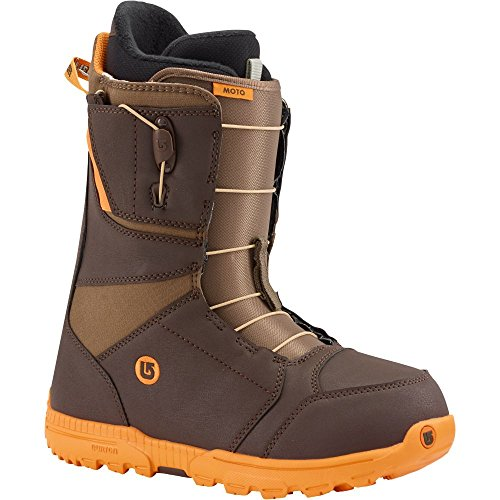 Burton Herren Snowboard Boots Moto, brown/orange, 11.5, 10436102210