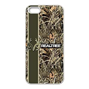 High Quality {YUXUAN-LARA CASE}Camouflage Camo Real Tree For Apple Iphone 5 5S STYLE-18