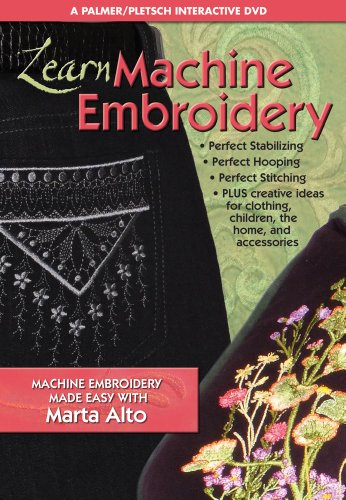 Learn Machine Embroidery: Machine Embroidery Made Easy with Marta Alto
