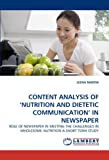 Content Analysis of 'Nutrition and Dietetic Communication' in Newspaper, Leena Martin, 3843353530