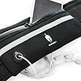 SpartaBelt Running Belt - Designer Fanny Pack with Expandable,...